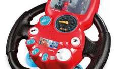 Детский автотренажер-руль – реалистичный симулятор вождения