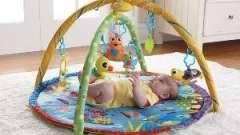 Детский развивающий коврик – познаем мир с пеленок