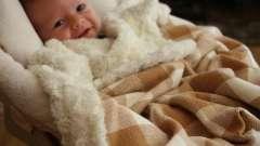 Детское байковое одеяло согреет в любую погоду
