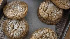 Диетическое печенье без маргарина и масла