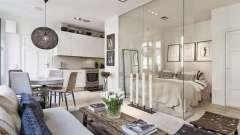 Дизайн однокомнатной квартиры 30 кв. М, фото