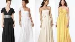 Длинные платья в греческом стиле: превращаемся в афродиту