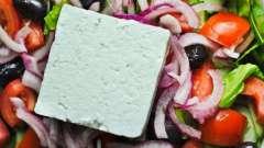 Для греческого салата сыр какой лучше подобрать? Оригинальные рецепты