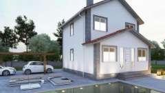 Дом 8 на 8: проект. Из пеноблоков и пенобетона можно возвести дом 8 х 8