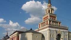 """Достопримечательности столицы: казанский вокзал (станция метро """"комсомольская"""")"""