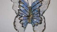 Доступное творчество. Как сделать бабочки из пластиковых бутылок