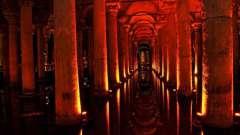 Древняя базилика цистерна – наследие византийской империи