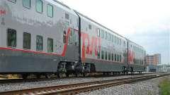 Двухэтажный поезд: состав, фото, отзывы