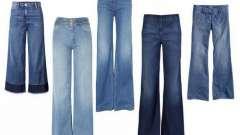 Джинсы широкие: с чем носить?