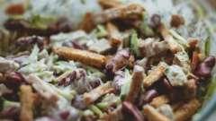 Фасолевый салат: рецепты приготовления с фото. Салат с фасолью консервированной