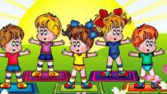 Физкультурное развлечение в средней группе детского сада