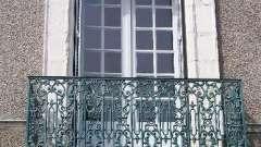 Французский балкон - изысканное решение для декора