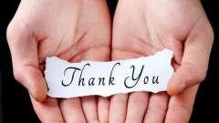 """Фразы благодарности: сказать """"спасибо"""" очень просто!"""