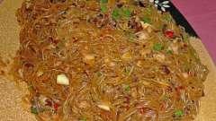 Фунчоза по-корейски - вкусно, быстро, питательно