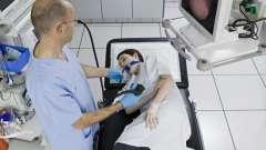 Гастроскопия под наркозом. Показания к проведению