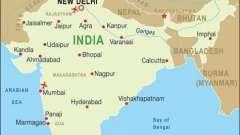 Где находится индия. Местоположение древней индии