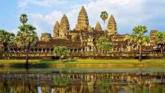 Где находится камбоджа и сколько лететь?