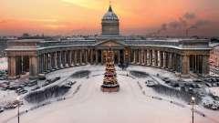 Где встретить новый год в санкт-петербурге?