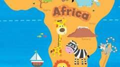Географическое положение африки. Особенности географического положения материка