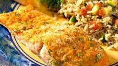 Горбуша, запеченная в духовке с сыром. Горбуша, запеченная с сыром