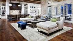 Гостиные в стиле кантри. Мебель для гостиной в стиле кантри