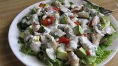 Готовим дома салат из вареной трески