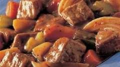 """Готовим мясо в мультиварке """"поларис"""""""