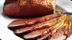 Готовим мясо, запеченное в мультиварке
