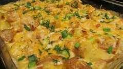 Готовим самое вкусное блюдо: куриная грудка в духовке с картошкой