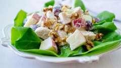 Готовим вальдорфский салат дома