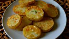 Готовим жареный картофель в мультиварке
