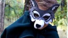 Готовимся к маскараду. Как делается маска волка?