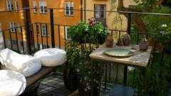 Грамотное обустройство балкона