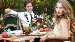 Гранатовая свадьба: подарки супругам