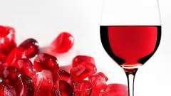 Гранатовое вино: что нам о нем известно?