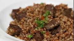Гречка с мясом в мультиварке - рецепт для сытного ужина