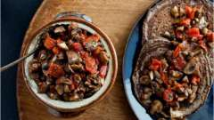 Грибная икра с помидорами на зиму: рецепт приготовления закуски