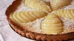 Грушевый пирог в мультиварке. Рецепты