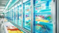 Холодильные и морозильные витрины для оснащения торговых залов