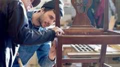 Идеи реставрации мебели своими руками: фото. Реставрация старой мебели