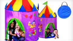 Игровая палатка для детей. Палатка-домик