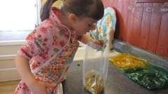 Игры на кухне - развиваем малыша
