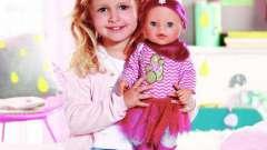 Интерактивные куклы baby born: описание, отзывы. Игрушки для детей