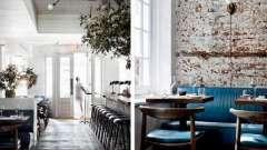 Интерьер ресторана: фото, стили