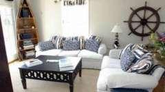 Интерьер в морском стиле для вашей квартиры
