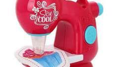 Интересная и безопасная детская швейная машинка sew cool - отличный подарок для девочки
