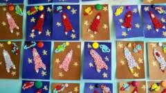 Интересная поделка ко дню космонавтики в детском саду: мастер-классы