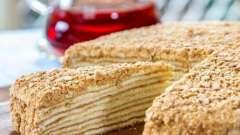 Интересный рецепт слоеного торта