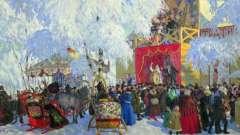 История масленицы на руси