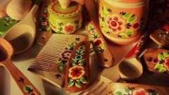История народных промыслов: урало-сибирская роспись